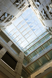 Royal College of General Practitioners glazed roof units project